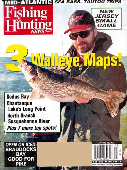Fishing & Hunting News Cover - 1/21/2007
