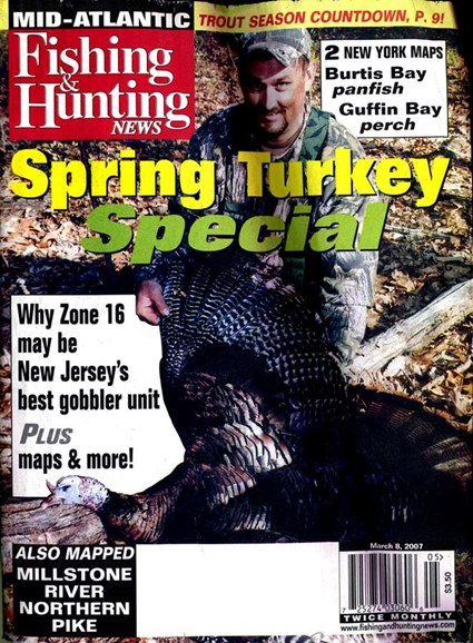 Fishing & Hunting News Cover - 3/3/2007