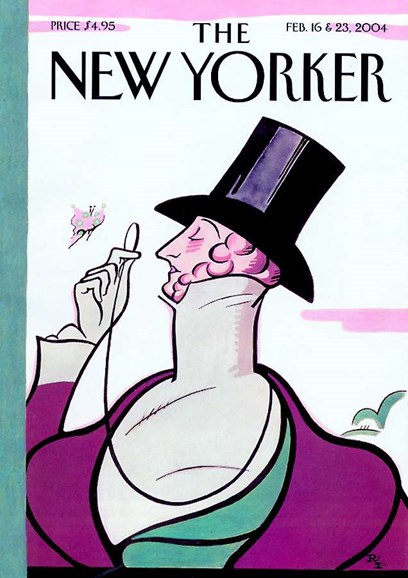 The New Yorker Cover - 2/1/2004