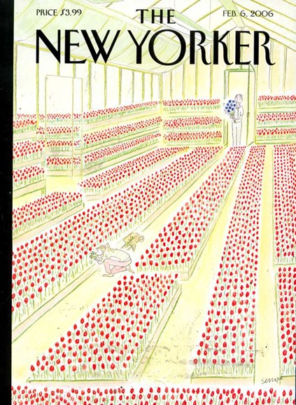 The New Yorker Cover - 2/3/2006