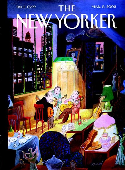 The New Yorker Cover - 3/1/2006