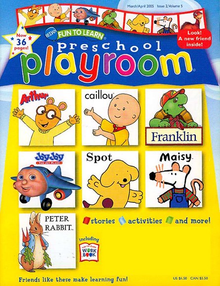 Preschool Friends Cover - 3/1/2005