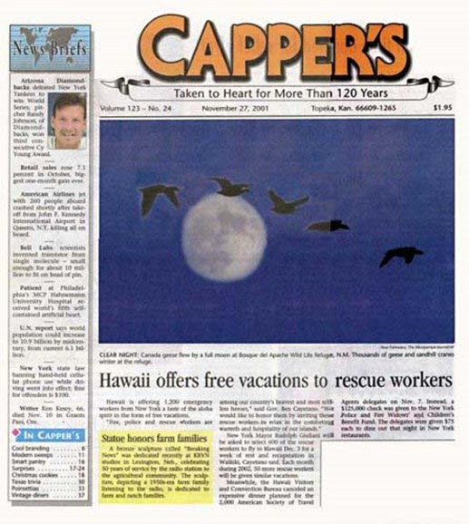 Capper's Cover - 10/1/2004