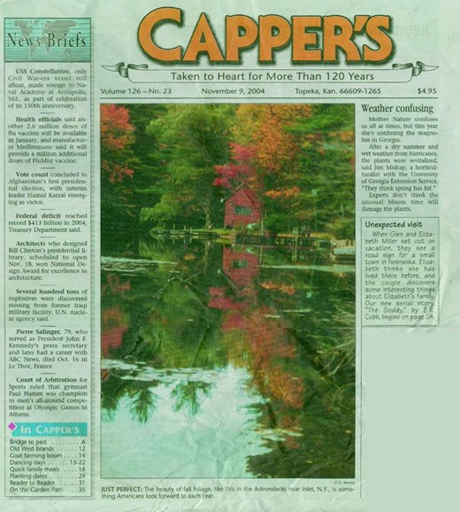 Capper's Cover - 11/1/2004