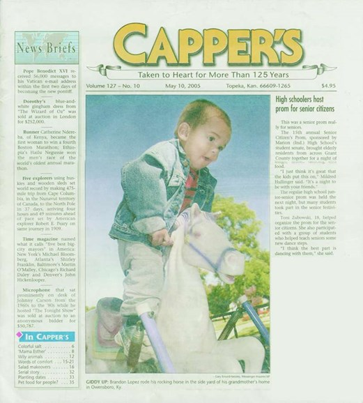 Capper's Cover - 5/1/2005