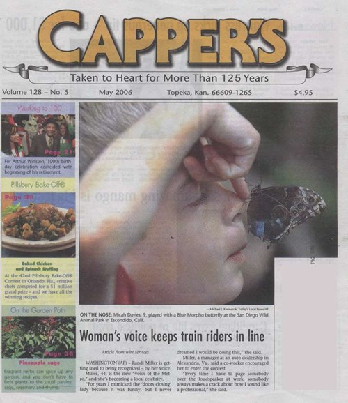 Capper's Cover - 5/1/2006