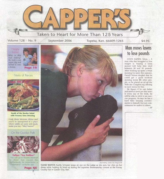 Capper's Cover - 9/1/2006