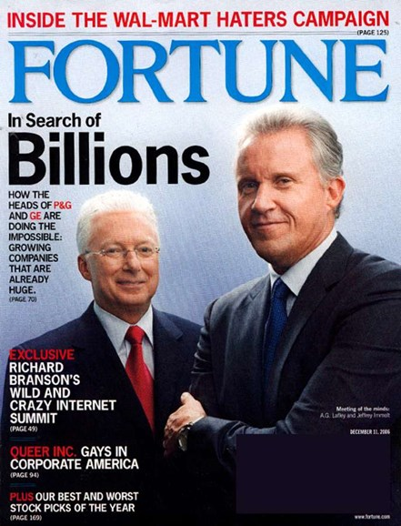 Fortune Cover - 12/7/2006