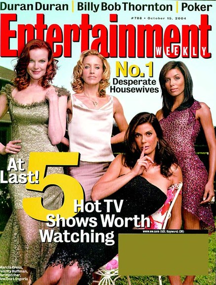 Entertainment Weekly Cover - 10/14/2004