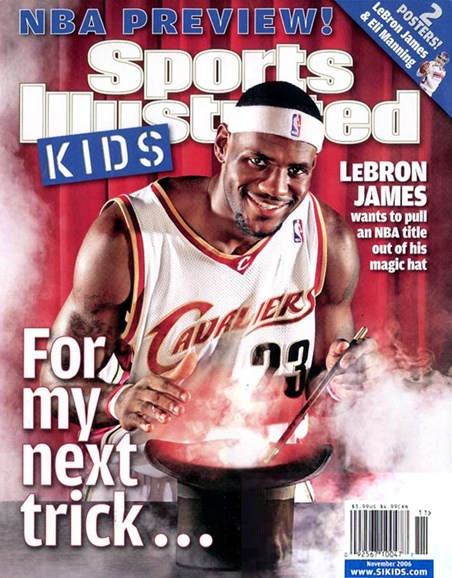 Sports Illustrated Kids Cover - 11/1/2006