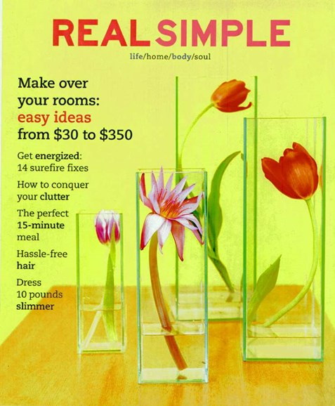 Real Simple Cover - 5/1/2003