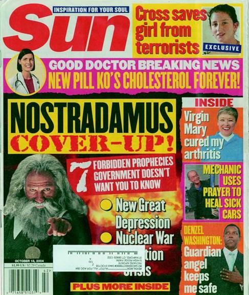 Sun Cover - 10/1/2004