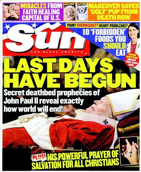 Sun Cover - 5/1/2005