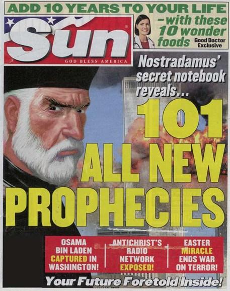 Sun Cover - 4/1/2006