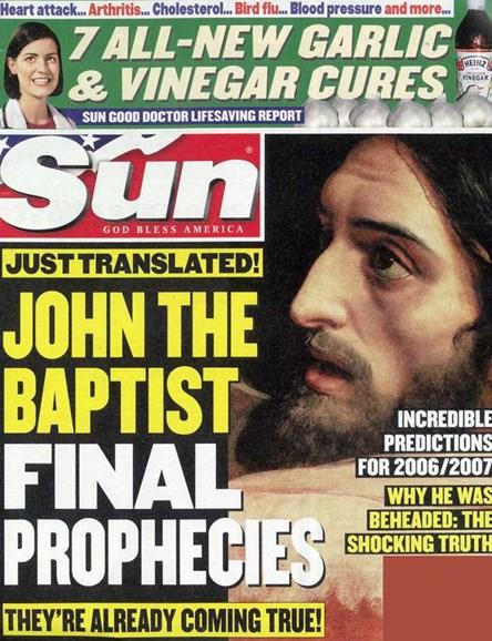 Sun Cover - 8/3/2006