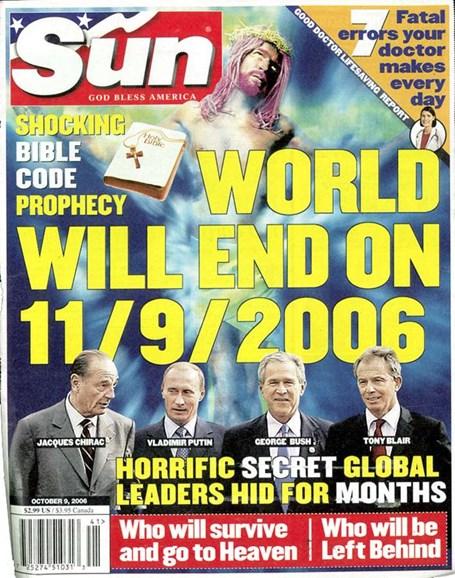 Sun Cover - 10/7/2006