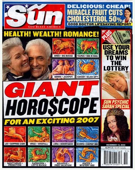 Sun Cover - 12/14/2006