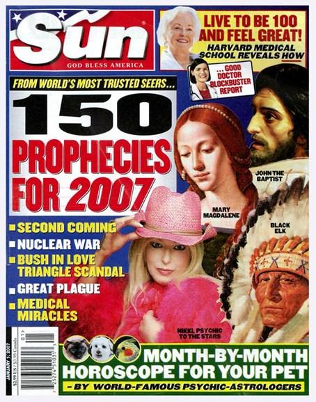 Sun Cover - 1/3/2007
