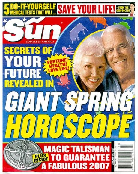 Sun Cover - 1/28/2007