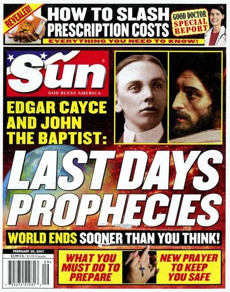 Sun Cover - 2/21/2007