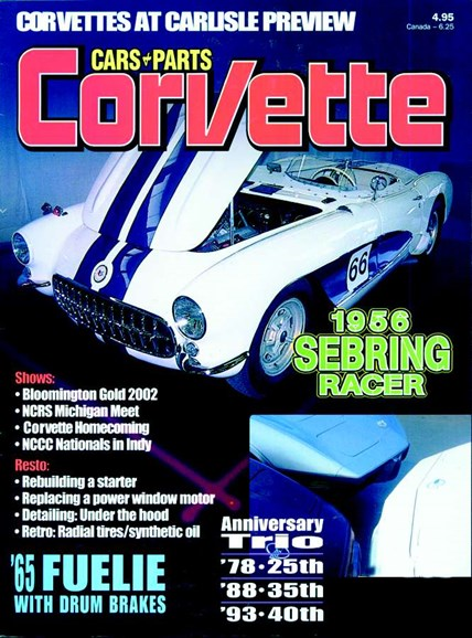 Cars & parts Cover - 10/1/2002