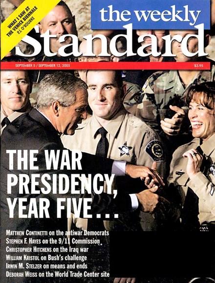 Washington Examiner Cover - 9/1/2005