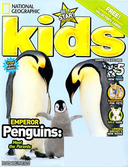 National Geographic Kids Cover - 12/1/2004