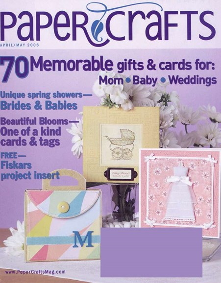 Paper Crafts Cover - 5/1/2006