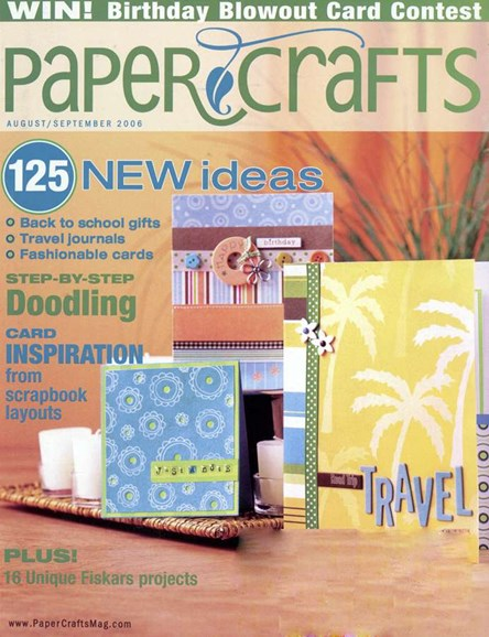 Paper Crafts Cover - 9/1/2006