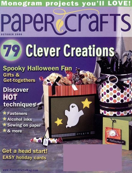 Paper Crafts Cover - 10/1/2006