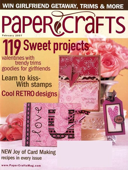 Paper Crafts Cover - 2/1/2007