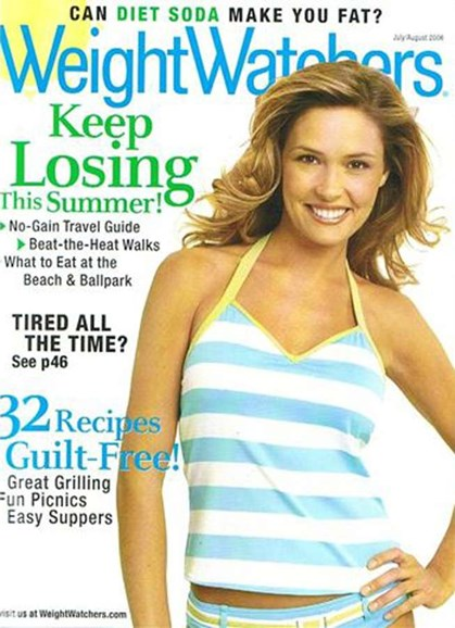 Weight Watchers Magazine Cover - 7/1/2006