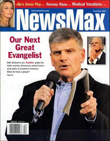 Newsmax Magazine Cover - 12/1/2006