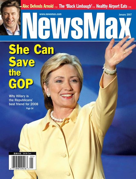 Newsmax Magazine Cover - 1/1/2007