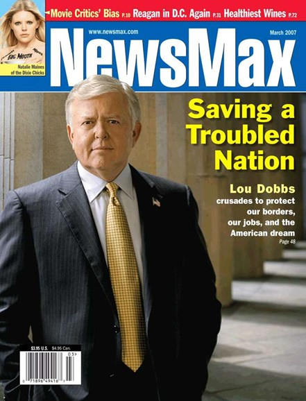 Newsmax Magazine Cover - 3/1/2007