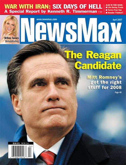 Newsmax Magazine Cover - 4/1/2007