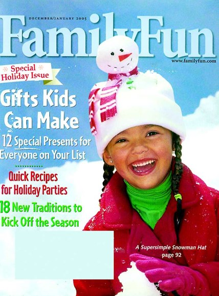 Family Fun Cover - 12/1/2004