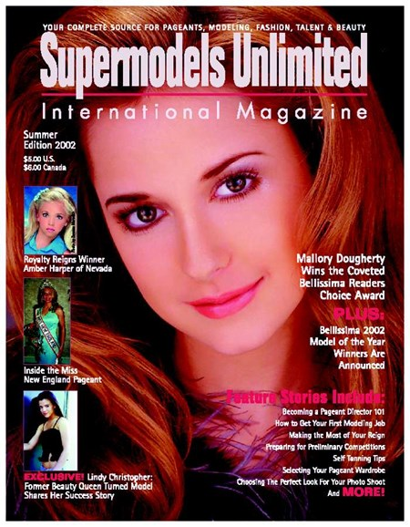 Supermodels Unlimited Cover - 7/1/2002