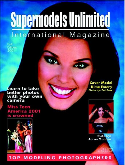 Supermodels Unlimited Cover - 9/1/2002