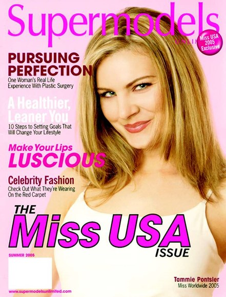 Supermodels Unlimited Cover - 8/1/2005