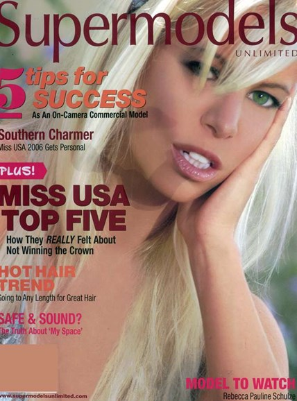 Supermodels Unlimited Cover - 10/1/2006