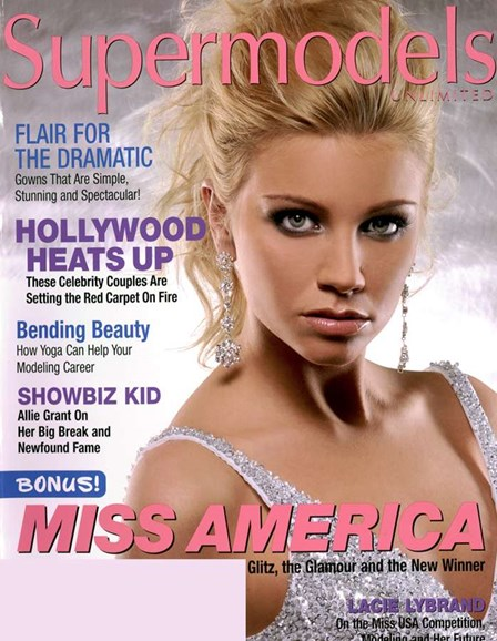 Supermodels Unlimited Cover - 4/1/2007