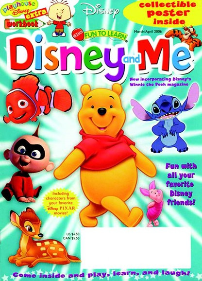 Disney Junior Cover - 4/3/2005