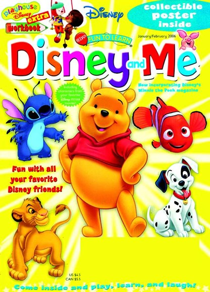 Disney Junior Cover - 2/1/2006