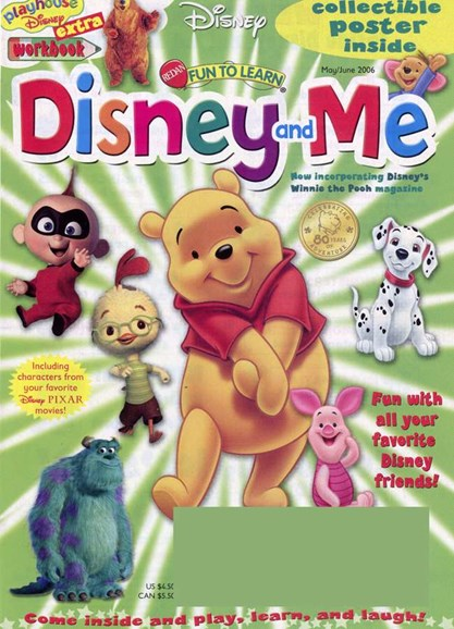 Disney Junior Cover - 5/1/2006