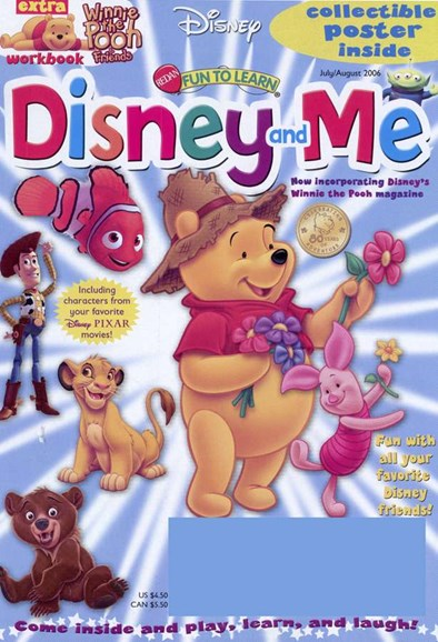 Disney Junior Cover - 8/1/2006