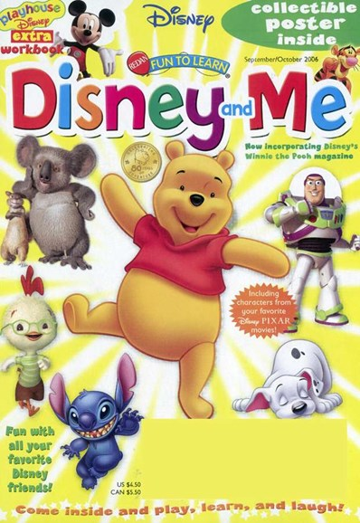 Disney Junior Cover - 9/7/2006