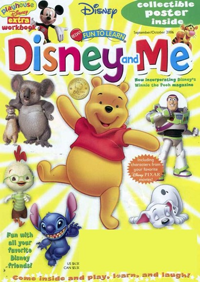 Disney Junior Cover - 10/1/2006