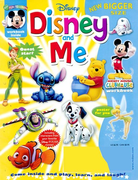 Disney Junior Cover - 4/1/2007