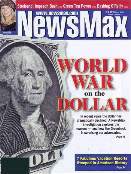 Newsmax Magazine Cover - 5/1/2006